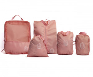 SideKick Travel Organiser Set 5pc - Pink