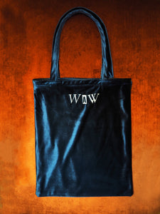 WAW® 'Moon' Velvet Tote Bag (One off)