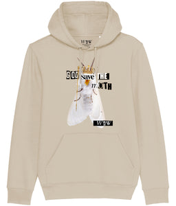 'God Save the Moth' Unisex Hoodie