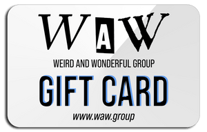 Men/Women/Kids/Baby Gift Card Graphic Hoodies, Clothing, T-Shirts and Accessories from WAW Group - Weird and Wonderful Group, independent, boutique, fashion and design brand UK
