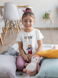 Kid's (Boys/Girls) Jules the Puppet T-Shirt on White: Men/Women/Kids/Baby Graphic Hoodies, Clothing, T-Shirts and Accessories from WAW Group - Weird and Wonderful Group, independent, boutique, fashion and design brand UK