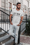 Men's Classic WAW Group Weird and Wonderful T-Shirt on White: Men/Women/Kids Graphic Hoodies, Clothing, T-Shirts and Accessories from WAW Group - Weird and Wonderful Group, independent, boutique, fashion and design brand UK