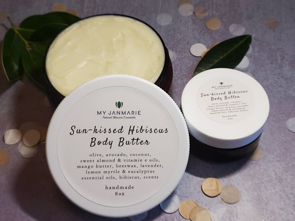Sun-kissed Hibiscus Whipped Body Butter