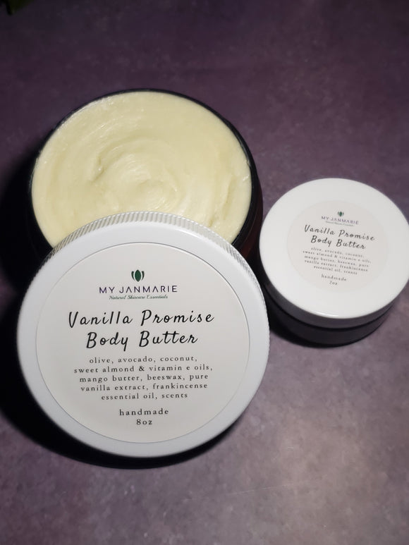 Vanilla Promise Whipped Body Butter
