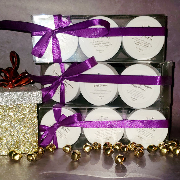Holiday Mini Body Butter Set