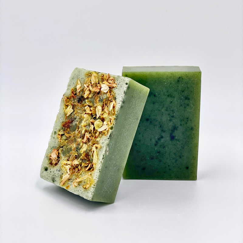 Spirulina, Aloe Vera and Jasmine Soap