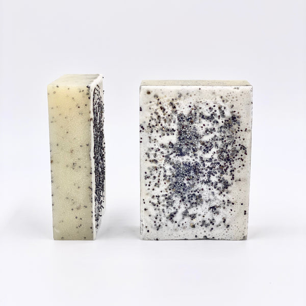 Chia and Poppy Seeds, Sweet Almonds and Ginger Soap