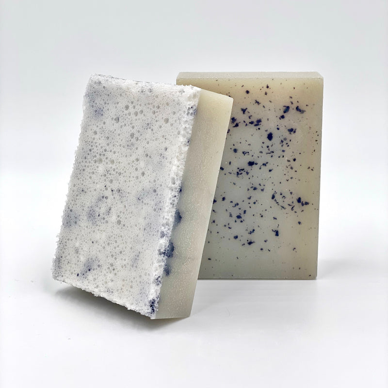 Monoï Tahiti, Blue Spirulina and Rosemary Soap