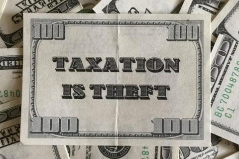 $100 Taxation Is Theft Bills (100 Pack)