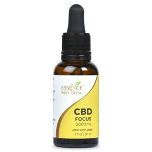 CBD Functional Extract 2000 mg - Focus, THC Free
