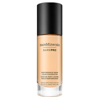 BarePro Liquid Foundation SPF20 08 Golden Ivory