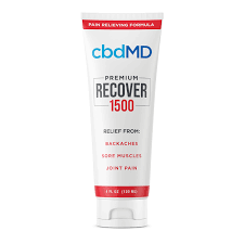 CBD Recover Inflammation Formula 1500 mg, THC Free, 4 oz Squeeze Tube