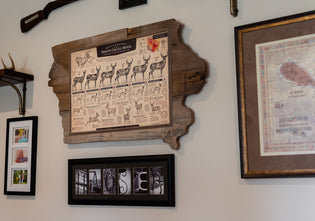 My Top 10 Creative ways to Display Your Whitetail and Waterfowl Print