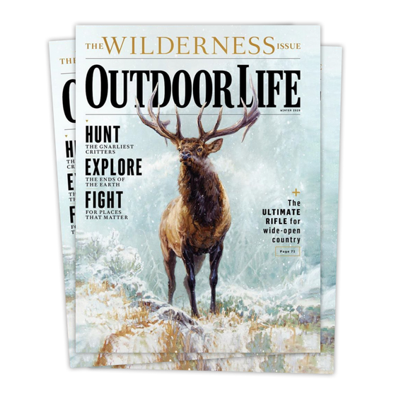 Signed Winter 2020 Issue of Outdoor Life