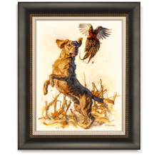 """Loyal Flush"" Artist's Proof Canvas Giclée"