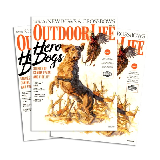 August 2017 Issue of Outdoor Life