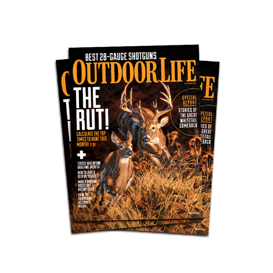 Signed November 2015 Issue of Outdoor Life