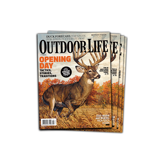 Signed October 2014 Issue of Outdoor Life
