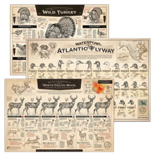 [ Wild Turkey + Atlantic Flyway+ Whitetail ] Pick 3 Bundle