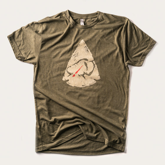 Ryan Kirby Arrowhead T-Shirt [Military Green]