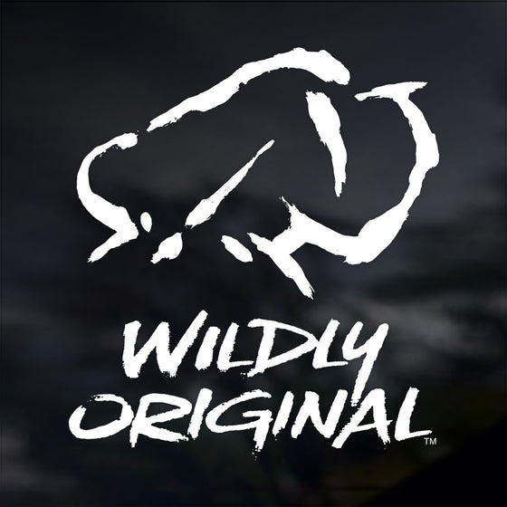 Wildly Original Logo Decal