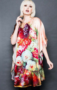 Silk Floral Tunic