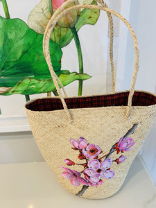 Hand Painted Basket