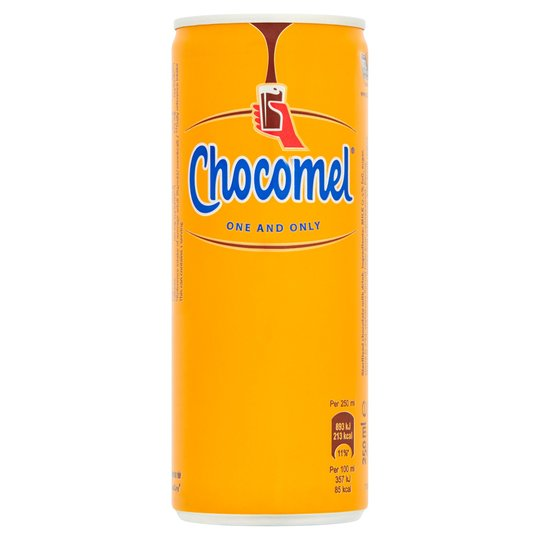 Chocomel Chocolate Flavoured Milk Drink Can 250ml (EU Import)