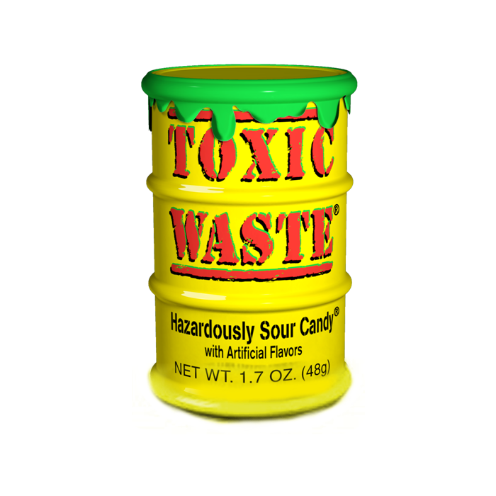 Toxic Waste Yellow Tub