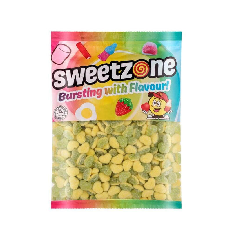 Sweetzone Apple & Custard Hearts 1kg