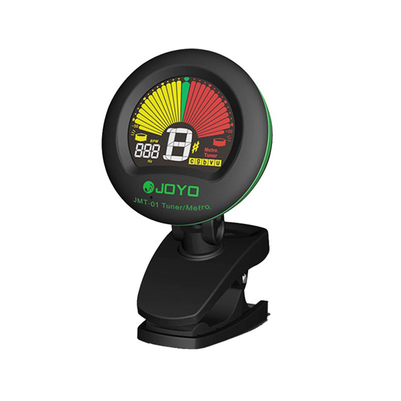 JOYO JMT-01 Clip-on Tuner and Metronome, Black