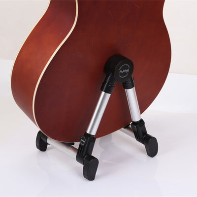 Guitar Folding A-Frame Stand, Silver