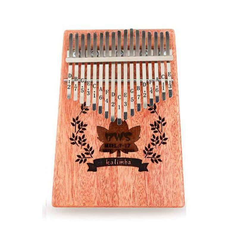 Kalimba 17 key Thumb piano Mahogany Wood