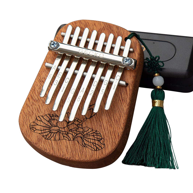 GECKO Mini Kalimba 8 Keys Thumb Piano