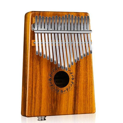 GECKO Kalimba 17 Keys Thumb Piano built-in EVA high-performance protective box