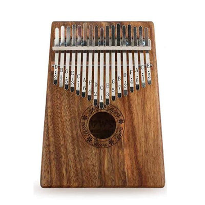 Thumb Piano 17 Keys Kalimba Finger Piano Mbira Sanza Thumb Instrument