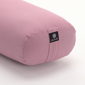 Load image into Gallery viewer, Blush - Oval Yoga Bolster-Yoga Bolster-Classic, Oval Bolsters-