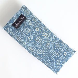 Eye Pillow - Ajrakh Indigo Star