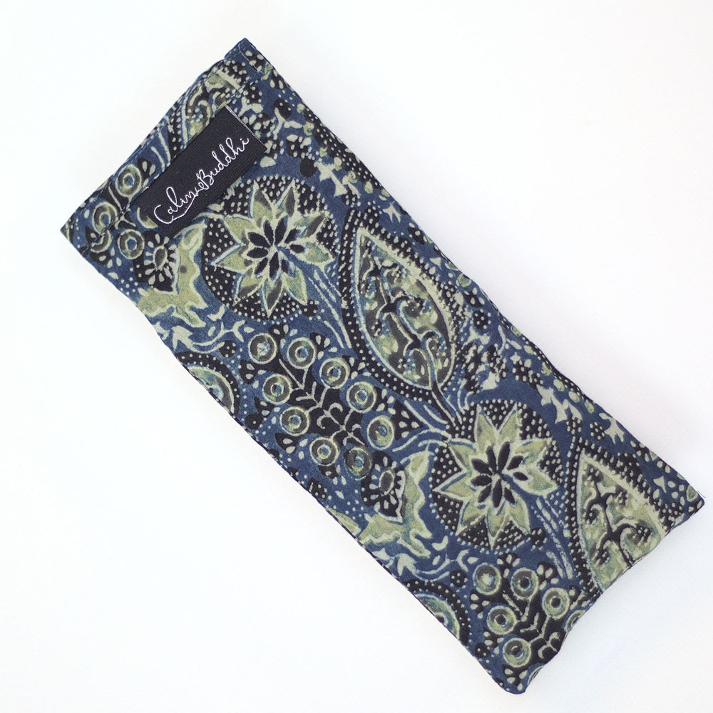 Load image into Gallery viewer, Eye Pillow - Ajrakh Fig Leaf