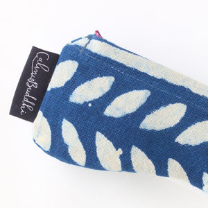 Eye Pillow - Contoured - Indigo Dreams-Meditation-Block Printed, Eye Pillows-Scented-