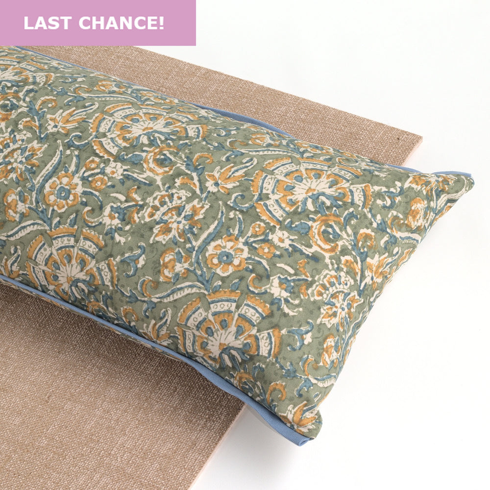 Gaia Yoga Pillow-Yoga-Block Printed, Yoga Pillows-