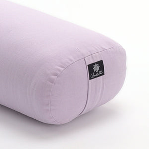 Lilac Oval Yoga Bolster-Yoga Bolster-Classic, Oval Bolsters-