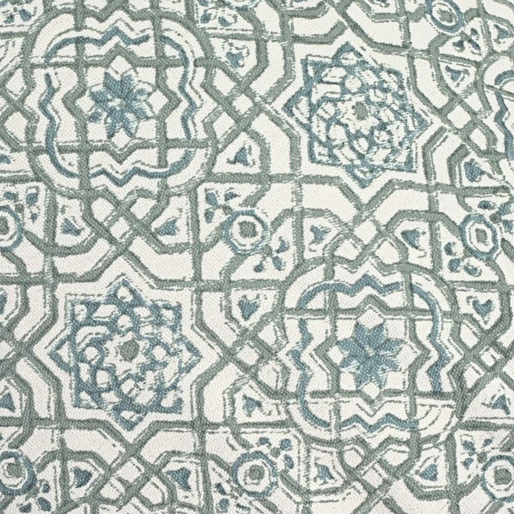 Moroccan Dreams Round Yoga Bolster-Yoga Bolster-Block Printed, Round Bolsters-