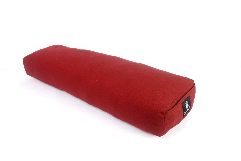 Load image into Gallery viewer, Prana burgandy yoga bolster-Yoga Bolster-Classic, Prana Bolsters-