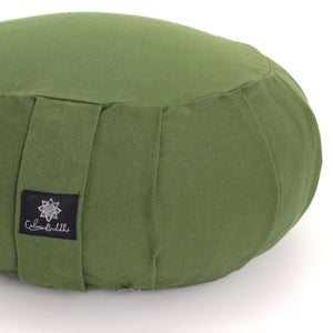 Round Meditation Cushion - Green