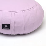 Round Meditation Cushion - Lilac-Meditation Cushion-Classic, Zafus-