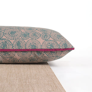 Load image into Gallery viewer, Teal Chakra Yoga Pillow