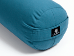 Teal Round Yoga Bolster-Yoga Bolster-Classic, Round Bolsters-