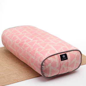 Watermelon triangle Oval Yoga Bolster