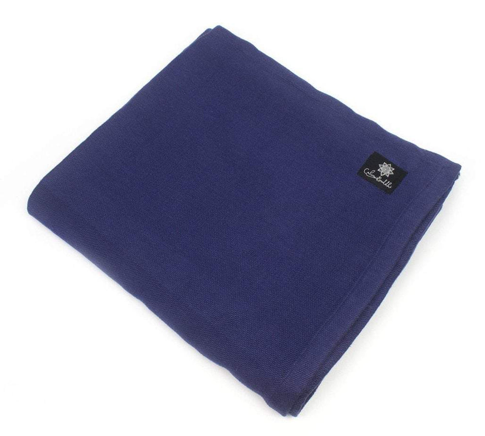 Yoga blankets-Yoga Accessories-Blankets, Classic-BLUE-